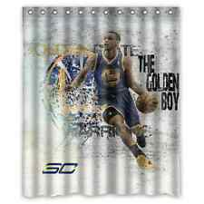 New Waterproof Stephen Curry Basket Ball Custom Shower Curtain 60 x 72 ""