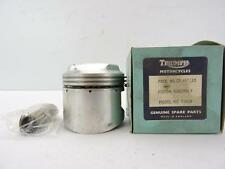CP/187/30 NOS .030 Piston Assembly w/ Rings & Pin Triumph 500 T100A W17