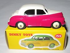 ATLAS / DINKY 159 MORRIS OXFORD SALOON  -  DINKY TOYS  MINT BOXED