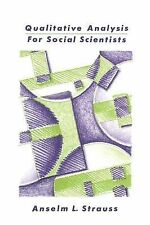 Strauss Qualitative Analysis Soc Scientists Very Good Book