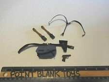 DRAGON WWII GERMAN PARATROOPER BELT & ACC 1/6TH ACTION FIGURE TOYS did bbi