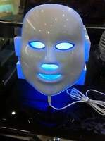 JMF 7in1 Photon Beauty Facial Mask LED Light Therapy Skin Care Photodynamics PDT