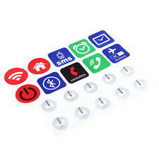 10pcs Smart NFC Tags Stickers for Samsung Galaxy Nokia Sony Xperia Nexus 5 DIY