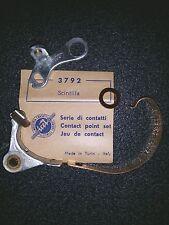CONTATTI NEW CONTACT BREAKER POINT SET  CET 3792 SCINTILLA