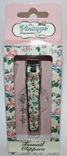 The Vintage Cosmetic Company Floral Toe Nail Clippers *Offered by Cozee Clothing