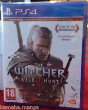 he Witcher 3 WILD HUNT PS4 NEUF SOUS BLISTER