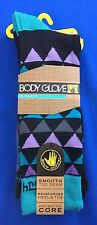 Authentic BODY GLOVE men's Socks 3 pairs pack  Size 10 -13 Turquoise,purple