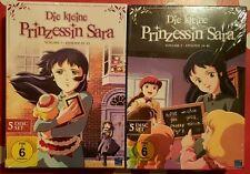Die kleine Prinzessin Sara - Staffel 1 + 2 - komplette Serie - OOP - neu & ovp