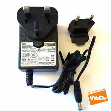 "VERBATIM 3.5"" ZOOSTORM FREEDOM NETBOOK 10-270 POWER SUPPLY ADAPTOR 12V 2A UK EU"
