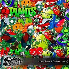 1m De Plantas Vs Zombies (PZ01) 100cm Hydrographics Water Transfer Film