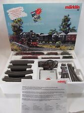 Marklin HO Scale Delta Digital Train Set 2-8-2 Steam Locomotive Engine in C-8 LN
