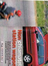 SP73 Clipping-Ritaglio 2002 Peugeot 206 sw 1.6 16v xs Non chiamatela station..