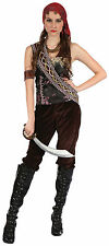 Da Donna Pirati #OF Caraibi Gypsy LADY Costume Taglia Unica Costume