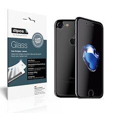 dipos Panzerglasfolie matt Apple iPhone 7 (Vorder- und Rückseite) Schutzfolie 9H