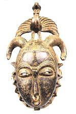 Art Africain - Ancien & Authentique Masque Yohoure - Sculpture Spectaculaire +++