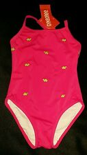 NWT GYMBOREE TENNIS MATCH TURTLE SWIMSUIT PINK 4 4T RARE NEW