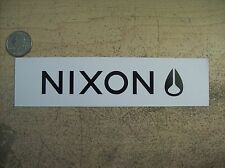 NIXON SNOWBOARD DECAL STICKER