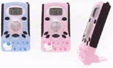 Hello Kitty : Blue Mini FM Radio Clock : KT 24897
