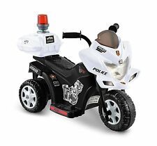 Kids Ride On Police Bike Toddler Toy Motorcycle Battery Powered Scooter New