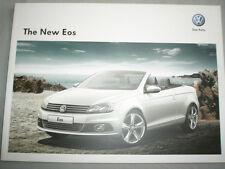 VW Eos range brochure c2012 Chinese? text