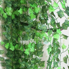 Hot Fake Foliage Leaves Artificial Ivy Garland Vine For Wall Fence Home Decor