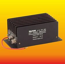40 W 144 MHZ TELINDEL A14-40-160 VHF HAM RADIO POWER AMPLIFIER BLW60C
