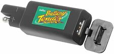 NEW Deltran Battery Tender - Easy/Quick Connect 2.1 amp USB Charger GPS IPHONE