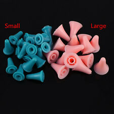2x20pcs Plastic Large Small Size Point Protectors/Stoppers for Knitting Needles