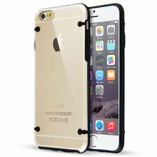 Black Clear Transparent Protective Silicone Bumper Case Cover Apple iPhone 6