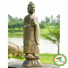 Large Buddha Statue Decorative Zen Home Sculpture Art Outdoor Garden Decor Gift