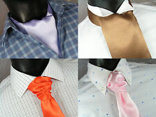Wedding Cravat / Party Cravat / Ruche , many colours