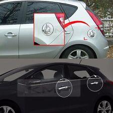 Chrome Door Catch Molding Fuel Cover Trim 9Pcs For HYUNDAI 2008-2012 i30 i30cw