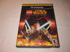 Lego Star Wars: The Video Game (Nintendo GameCube) Players Choice Complete Nice