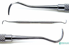 Dental Periodontal Sickle Scaler H6/H7 Stainless Steel Double Ended Instruments