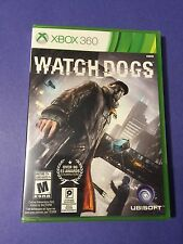 Watch Dogs Xbox 360  *First Print* NEW