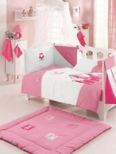 BABY COT SET. PRINCESS COT QUILT AND COT BUMPER. TOP QUALITY ITEMS. 100% COTTON.