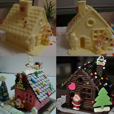 House Door Silicone 3D Fondant Mould Cake Decor Chocolate Cutter Mold Tool DIY