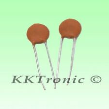 10 x 50nF 0.050uF 50V 5mm Ceramic Disc Capacitor - FREE SHIPPING