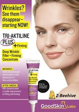 Goodskin labs TRI-AKTILINE PLUS FIRMING Deep Wrinkle Filler SEALED NIB 0.68 oz.
