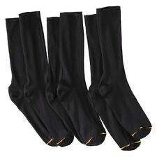 Auro® a Gold Toe Brand Men's 3pk Dress Socks - Black