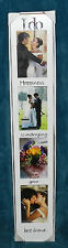 """BEAUTIFUL NEW PICTURE PHOTO FRAME!! """"I DO"""" WEDDING MARRIAGE BEST FRIEND!"""