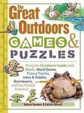 Storey&#39s Games and Puzzles: The Great Outdoors Games and Puzzles : Bring...