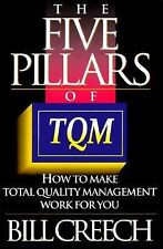 The Five Pillars of TQM: How to Make Total Quality Management Work for You