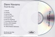 Dave Navarro (Red Hot Chili Peppers) - Trust No One - Scarce 2001 10trk promo CD