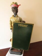 "BLACKAMOOR FIGURE, ADVERTISING - SHOP DISPLAY, VINTAGE, 26.5"" INCHES TALL."