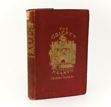 Charles Dickens  'The Cricket On The Hearth'. Bradbury & Evans,1846. 1st Ed