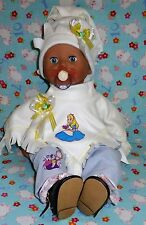 """New Disney Alice in wonderland baby dolls outfit clothes annabell reborn 19"""" 20"""""""
