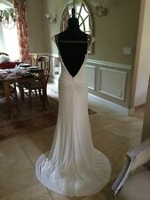 $378 NWT JVN BY JOVANI WHITE PROM/PAGEANT/WEDDING DRESS/GOWN SIZE 6