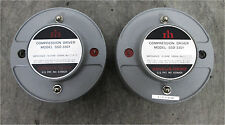 PAIR of Renkus Heinz SSD 3301 Compression Drivers 16-OHM