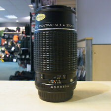 Used Pentax M 200mm f4 Lens - 1 YEAR GTEE